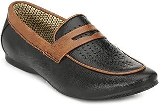 SHOE DAY Men Black Casual Loafers Shoe