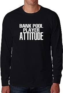 銀行プールの態度2ロングスリーブTシャツ