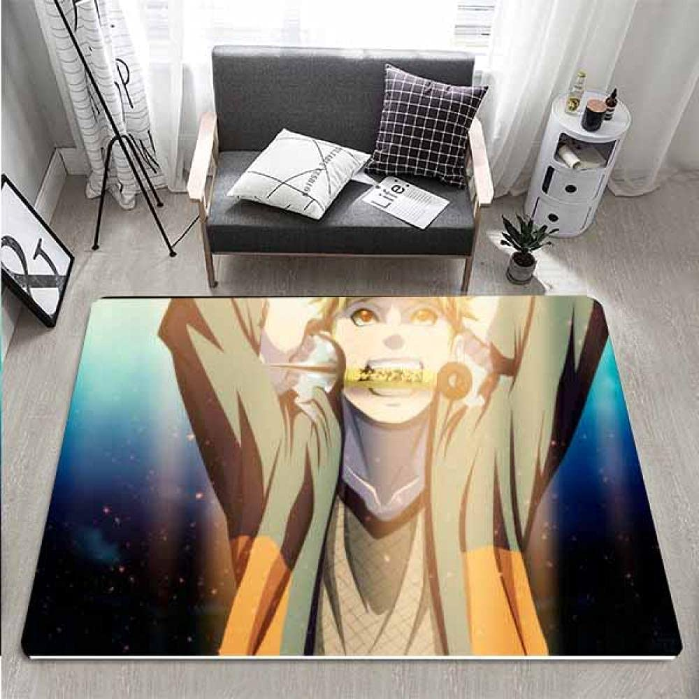 Naruto Rug Max 82% OFF Anime Area Rugs for 24x36 I Bedroom Room Our shop OFFers the best service Boys Living