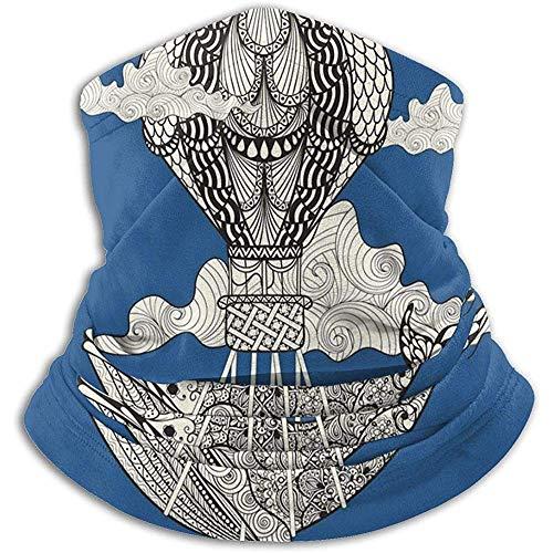 air kong Nackenwärmer Nackenwärmer Sturmhauben Walreiten Heißluftballon Winddichte Maske Kopfbedeckung Bandana Multifunktions-Kopftuch