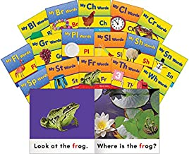 Teacher Created Materials - Classroom Library Collections: My Blends and Digraphs - 16 Book Set - Grades PreK-1 - Guided Reading Level B - C