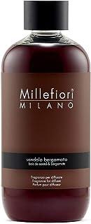 Millefiori [NATURAL] フレグランスディフューザー 専用リフィル 250m ベルガモット DIF-25-017