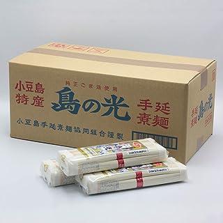【乾麺 手延素麺】 小豆島 手延そうめん 島の光 9kg ダンボール箱入り...