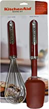 KitchenAid Baking set, Silicone Spoon Spatula and Utility Whisk