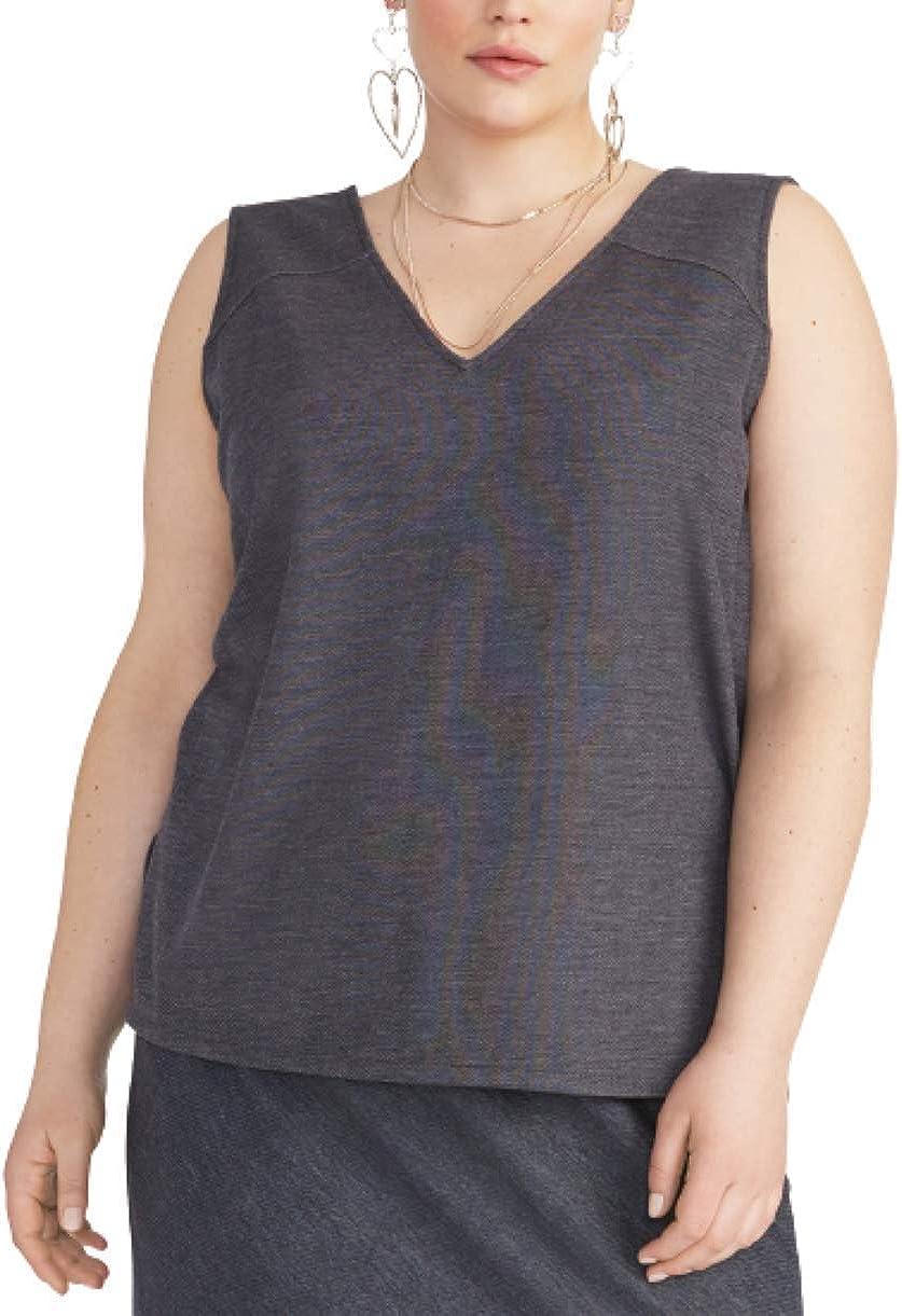 Rachel Rachel Roy Plus Size Cassandra Tunic Top - Indigo Denim Size 3X