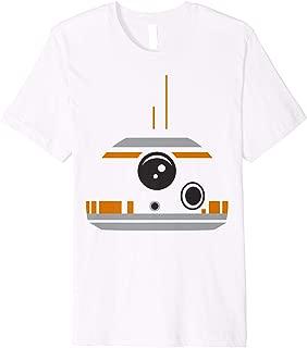 Star Wars The Force Awakens BB-8 Minimalist Big Face Costume Premium T-Shirt