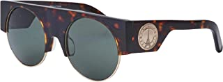 Kenzo sunglasses (KZ 3188 C02) Havana Dark Gold Light Grey green C02 Acetate plastic - Metal Havana Dark - Gold Light Grey...