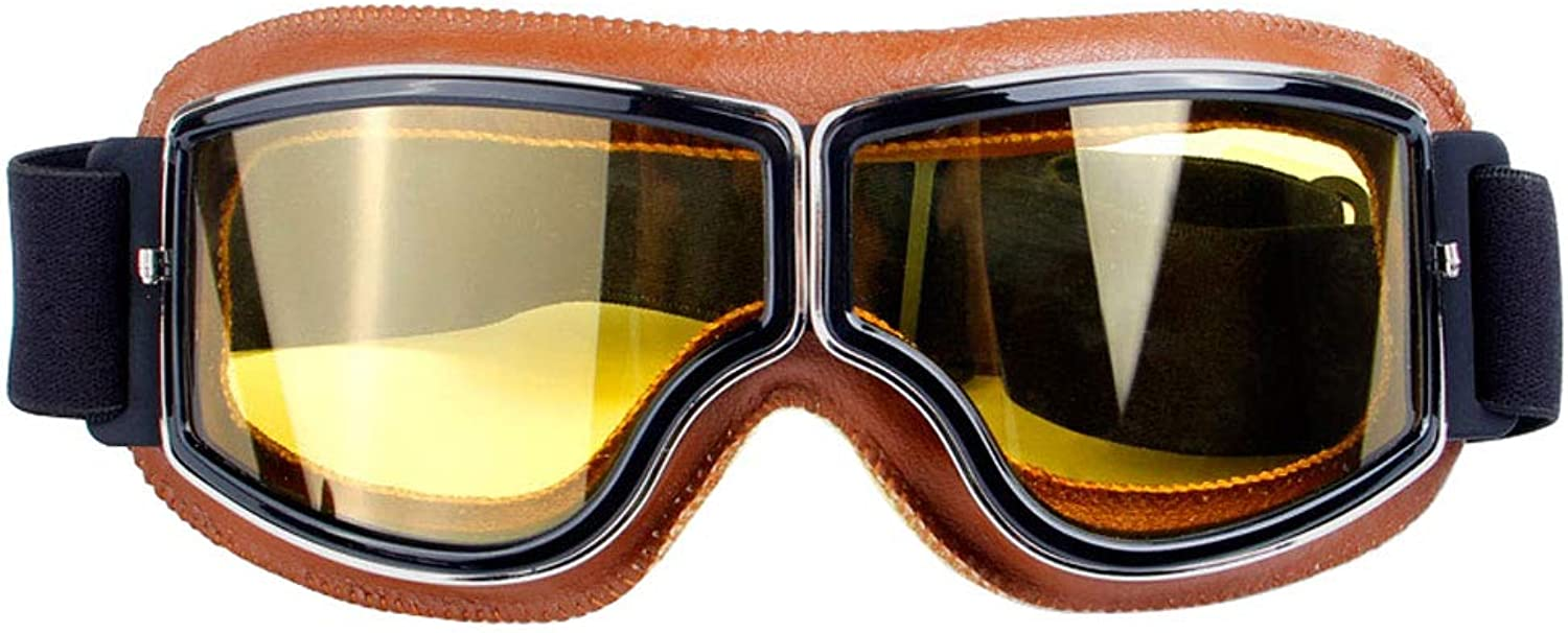 Adult Harley Motorcycle Glasses Outdoor Sports Riding Night Vision Goggles