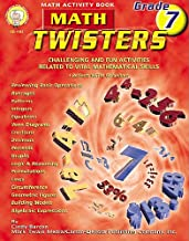 Math Twisters, Grade 7: Challenging and Fun Activities Related to Vital Mathematical Skills