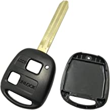 Horande Replacement Key Fob Case Shell fit for Toyota Land Cruiser Corolla Camry Prado FJ Cruiser Key Fob Cover