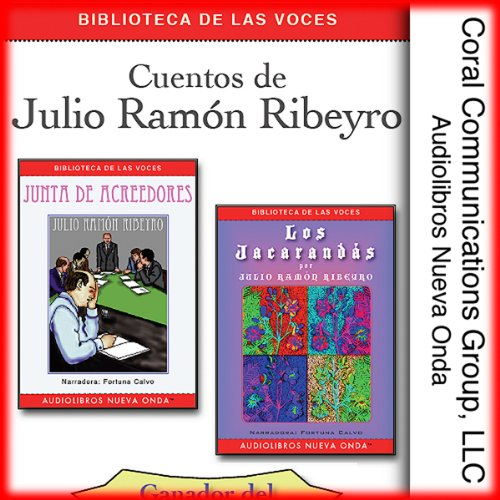 Cuentos de Julio Ramon Ribeyro [Stories of Julio Ramon Ribeyro] audiobook cover art