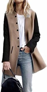 Womens Casual Long Sleeve Cardigan Jacket Long Coat Jumper Outwear