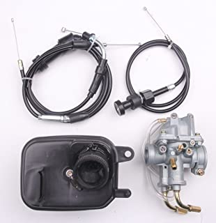 goodfind68 For Yamaha Y ZINGER PW 50 PW50 Carburetor Air Filter & Throttle Choke Cable Carb