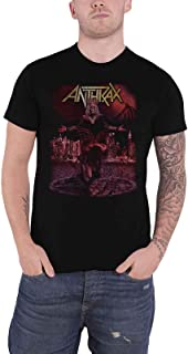 T Shirt Bloody Eagle World Tour 2018 Band Logo Official Mens Black