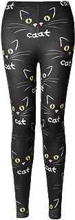 Soft Cat Kitten Meow Funny Ladies Leggings