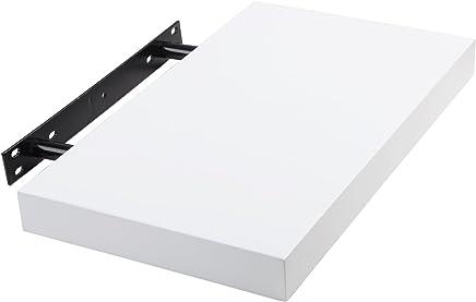 WOLTU RG9247ws-a Wandregal Wandboard Bücherregal Hängeregal 40cm, weiß