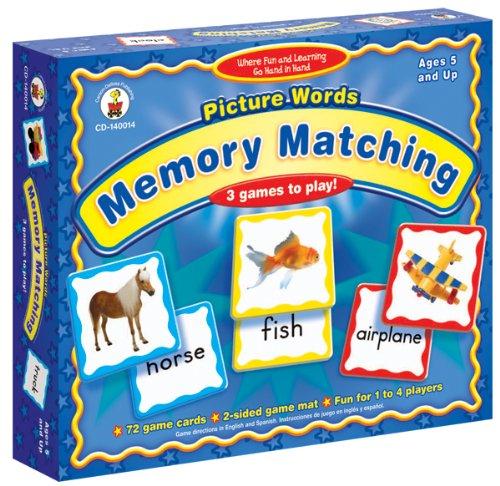 Carson-Dellosa Picture Words: Memory Matching