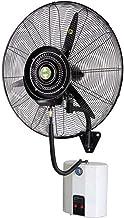 Heavy-duty Fan krachtige elektrische Wall Mounted Fans, vernevelen Cooling Quiet luchtbevochtiger Oscillerende Misting Hor...