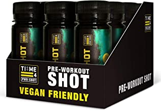 TIME 4 NUTRITION PWO Shot aE 12 x Ready to Drink Pre Workout Shots aE Ultra Fast Acting Pre Workout Boost aE The Best Energy Shots aE Pre Workout Vegan Friendly Mojito Estimated Price : £ 23,99