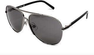 Swarovski Aviator Women's Sunglasses - SK0138-59- -mm Black