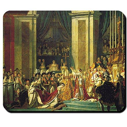 Kroon Napoleon Franse revolutie kroon napoleon schilderij kroon Joséphine in Notre Dame - Muismat Computer Laptop PC #16147