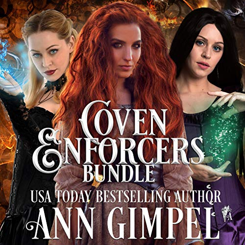 Coven Enforcers Bundle     Paranormal Romance - with a Steampunk Edge              By:                                                                                                                                 Ann Gimpel                               Narrated by:                                                                                                                                 Hollie Dragon                      Length: 18 hrs and 20 mins     Not rated yet     Overall 0.0
