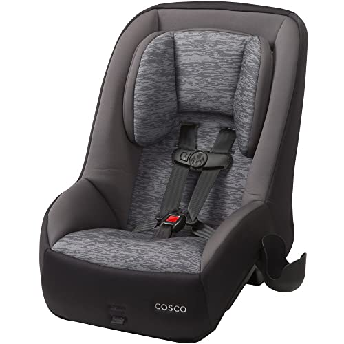 Cosco Mighty Fit 65 DX Convertible Car Seat (Heather Onyx Gray)