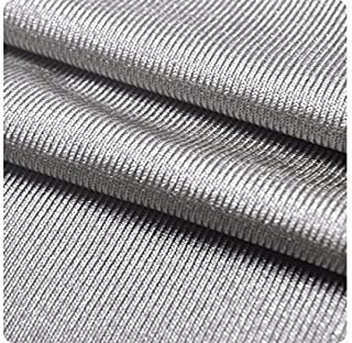 LVFEIER Anti Radiation/Conductive/Shielding EMF Protection Silver Fabric 39.37 X 59 inches