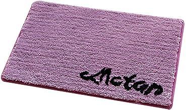 Kitchen Mats Bath Rug Non-Slip Absorbent Machine Washable Soft Fluffy Microfiber Entrance Rug Barrier Mat Dirt Trapper Bat...