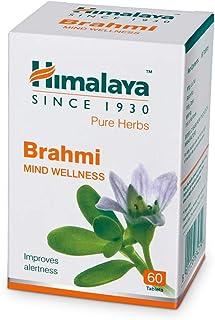 Himalaya Wellness Pure Herbs Brahmi Mind Wellness |Improves alertness |-Pack of 60 Tablet