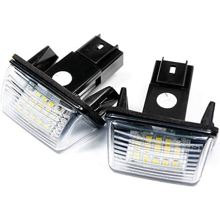 2 X Led Kennzeichenbeleuchtung Xenon 6000k Kennzeichen Leuchten Weiß Auto