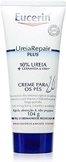Eucerin UreiaRepair Plus, Creme para os Pés, 10% Ureia + Ceramida e FNH, 104 g