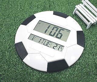 Beautiful and refined Football calendar LCD electronic alarm clock