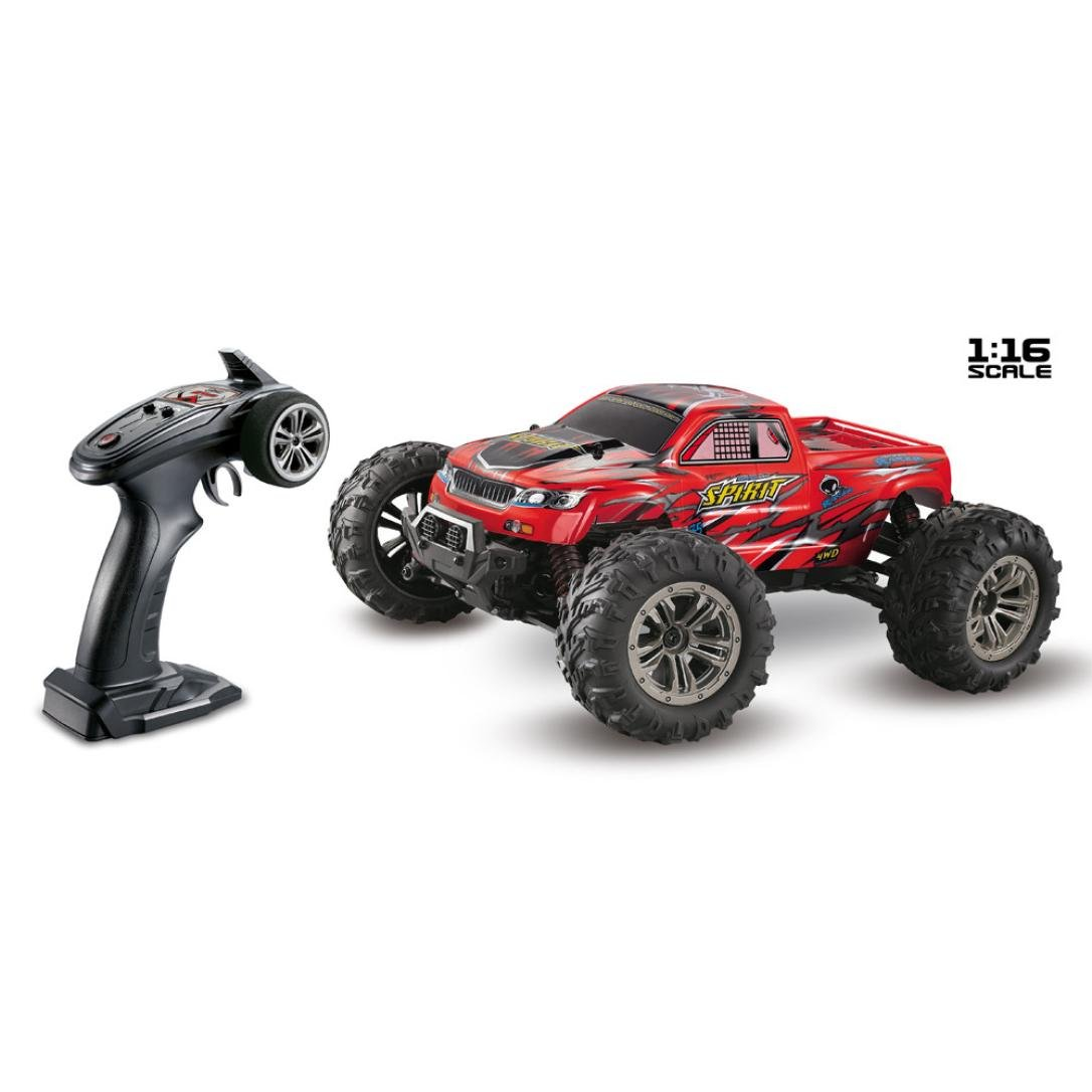 Overmal Rc Cars 1 16 High Speed 36km H 4wd 2 4ghz Remote Control Truck 9130 Off Road Rc Car 1 16 Red Amazon Com Au Toys Games