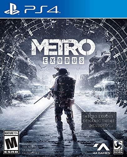 Metro Exodus: Day One Edition - PlayStation 4