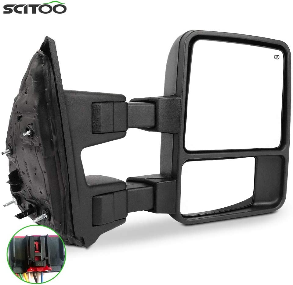 SCITOO Virginia Beach Mall for Ford Towing Mirror Ranking TOP5 RH View Rear Side fit 2008-