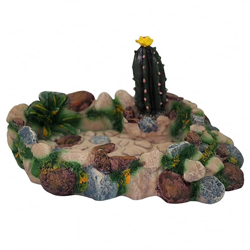 OMEM Reptile Food Bowl,Reptile Habitat Fodder Dish, Reptile Breeding Box Feeder, for Tortoise, Insect, Crickets, Crabs, Lizards, Amphibians, etc.