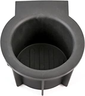 Red Hound Auto Front Center Console Cup Holder Rubber Insert Compatible with Ford Lincoln Expedition 2003-2006, Mark LT 2006-2008, Navigator 2003-2006, F150 2004-2008
