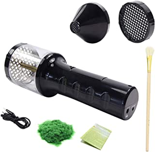 Yorten ABS Mini Static Grass Flocking Applicator with Antiskid Handle for DIY Scenic Modelling Sand Table