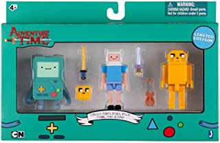 Adventure Time Collectors Pixel Pack Limited Edition Finn, Jake, BMO
