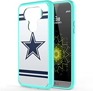 Moriko Case Compatible with LG G5 [Hybrid Slim Hard Back Shield Fused TPU Drop Protection Mint Green Case Cover] for LG G5 - (Cowboy)