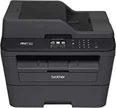 Brother MFC-L2740DW Laser Multifunction Printer - Monochrome - Plain Paper Print - Desktop - Copier/Fax/Printer/Scanner - 32 ppm Mono Print - 2400 x 600 dpi Print - 32 cpm Mono Copy - Touchscreen LCD - 600 dpi Optical Scan - Automatic Duplex Print - 250 sheets Input - Fast Ethernet - Wireless LAN - USB - MFC-L2740DW