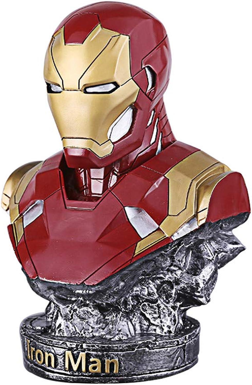 Ee0eE Iron Man, Avengers, Iron Man-Statue, MK46, Büstenstatue