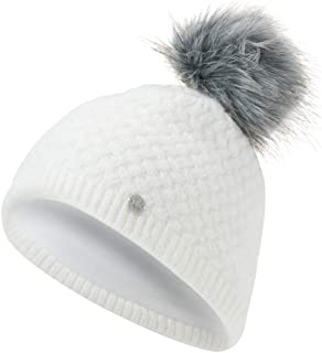 Spyder Women's Icicle Hat, White/Alloy, One Size