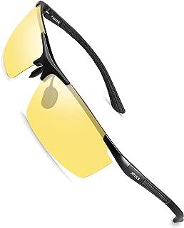 HD Night Vision Driving Glasses Anti Glare Polarized Safe Trendy Stylish Sunglasses for Men Women