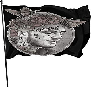 Dongfangukuk Polyester Lil Peep Flag Indoor/Outdoor Wall Banners Decorative Flag 3x5 Ft