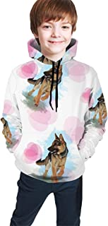YongColer Boys Girls Sweatshirt Hoodies Pullover Hooded Clothes with Pocket