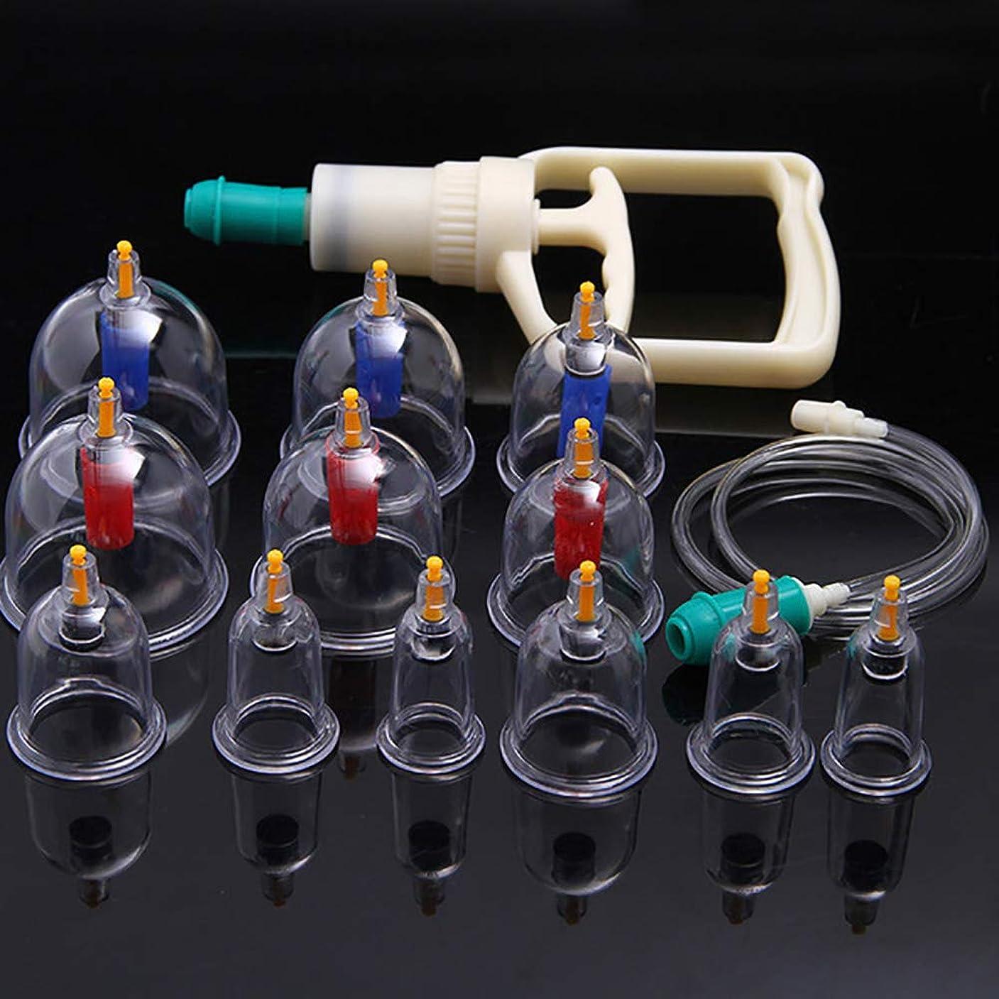 偽物インフラ代表してTINYPONY カッピング 吸い玉カップ 排気ポンプ 真空 脂肪吸引 康祝 6種 12個セット 自宅エステ アンチエイジングに