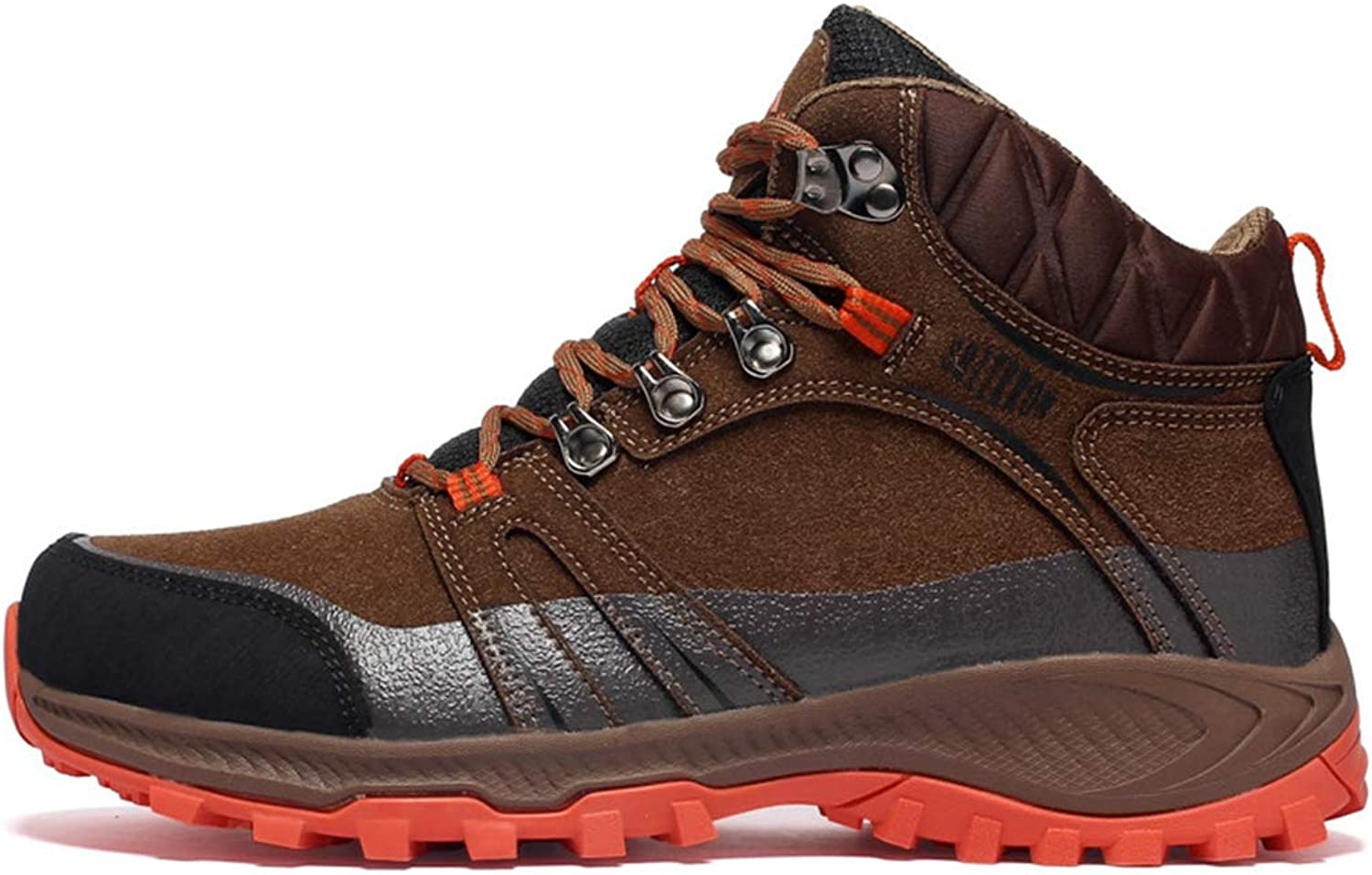 ASO-SLING Waterproof Hiking Boots Mens Womens Outdoor Trail Hiker Non-Slip Trekking Backpacking shoes