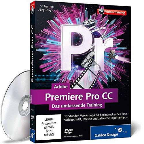 Adobe Premiere Pro CC - Das umfassende Training [import allemand]